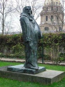 Balzac, escultura de Rodin | Foto: Milton Ribeiro